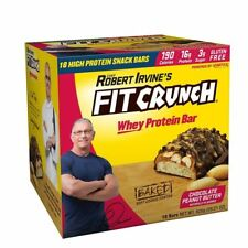 FortiFX FIT Choc-PB Crunch Protein Bars Chef Irvine (BOX OF 12 BAKED) Exp 08/20!