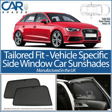 AUDI A3 5DR HATCHBACK 2012> CAR SHADES UK TAILORED UV SIDE WINDOW SUN BLINDS