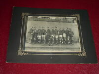 [Coll. Jean DOMARD SPORTS] FOOTBALL  - BELLE PHOTO EQUIPE & TROPHEE ANNEES 1920