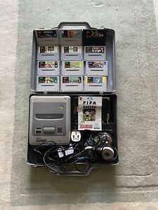 super nintendo console With Games