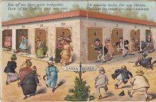 Bad Kissingen 1910 Mechanik-AK System-AK Toiletten Türen öffnen Bayern 1804369