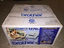 Brand New Brother IntelliFax 1270e Fax Machine Printer Retail Box