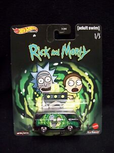 Hot Wheels Rick & Morty 1966 Dodge A100 Van.