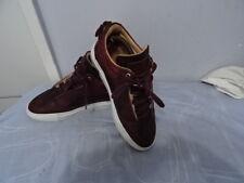 Mason Garments Made in Italy Milano Nubuck Bordo LACE-UP Ox Blood SHOES SZ UK 39