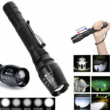 Police Tactical 990000LM Flashlight Grande Powerful LED Torch Light Waterproof