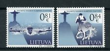 Lithuania 2016 MNH Summer Olympic Games Rio 2016 2v Set Swimming Olympics Stamps