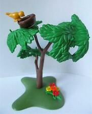 Playmobil árbol con pequeños Yellow Bird & Nido Nuevo Farm/Dollshouse/bosque paisaje