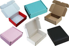 More details for pink black blue red white brown cardboard boxes shipping mailing storage gift