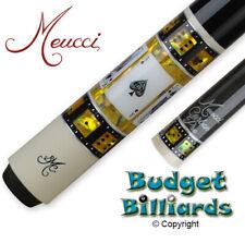"Meucci BMC Casino-8 Pool Cue w/ 30"" 2nd Gen Carbon Pro shaft 11.9mm"