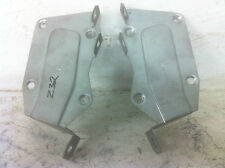 JDM NISSAN 300ZX Z32 DASH STEREO CD PLAYER MOUNTING BRACKETS SET OF 2 OEM USED
