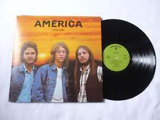AMERICA ~ HOMECOMING ~ 1972 UK 1ST PRESS CLASSIC ROCK VINYL LP ~ NICE AUDIO