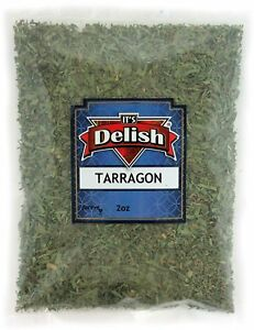 Tarragon Leaves All Natural by Its Delish, 2 Oz Bag
