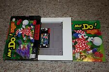 Mr. Do (Super Nintendo Entertainment System SNES, 1996) Complete in Box GREAT CC