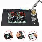 Large Heat Resistance 530°C Silicone Soldering Mat Gun Cleaning Pad Phone Repair