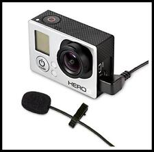 MXL GOLav Lavalier Microphone for GoPro Cameras works with Hero 3, 3+ and HERO 4