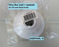 Return to pool, for 40mm BSP F  Thru the wall, with back nut, Spas/FG/AGP pools