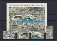 Bund BRD 1972 Michel Block 7 XX Olympische Spiele + Einzelmarken postfrisch **