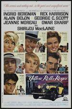 The yellow Rolls Royce Ingrid Bergman movie print