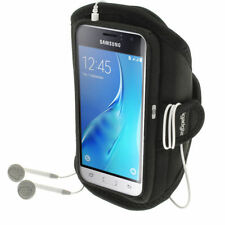 Brazaletes negro con cierre autoadherente para teléfonos móviles y PDAs Samsung
