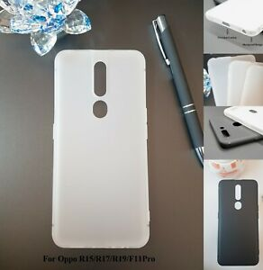 For Oppo R15 /R17 /R19 /F11Pro shockproof  soft case Frosting Phone cover
