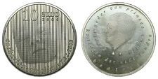 Netherlands - 10 Euro 2004 - Geboortemunt - Silver