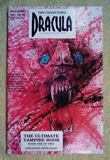 The Collector's Dracula #1 (1991, millennium publications) 9.0 VF/NM