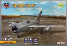"Modelsvit Models 1/72 MIKOYAN I-320 ""R-3"" Soviet Jet Fighter Project"