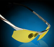 Aluminum-Magnesium Car Night Vision Anti Vertigo Polarized Driving Glasses 8513