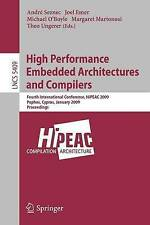 High Performance Embedded Architectures and Compilers: Fourth International Conf