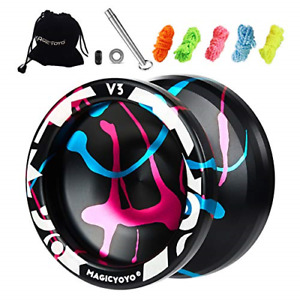 Responsive Yoyo V3, Aluminum Yoyo for Kids Beginner, Professional Yoyo with Ball