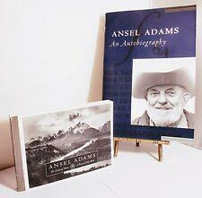 ANSEL ADAMS An Autobiography Book YOSEMITE Post Card Folio Ansel Adams