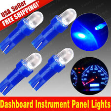 4X Ultra Blue T5 Instrument Dashboard Panel Gauge LED light bulbs 37 58 70 73 74