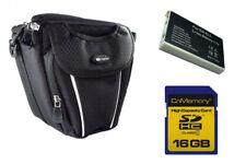 Kameratasche + SDHC 16Gb + EN-EL5 Akku für Nikon Coolpix P500, P510, P520