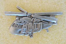US USA Black Hawk Helicopter Military Hat Lapel Pin