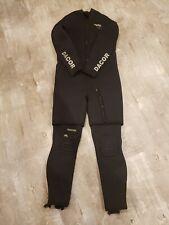 Dacor 2pc 7mm + 7mm Men's XXL Wetsuit for cold water SCUBA. 14mm torso!