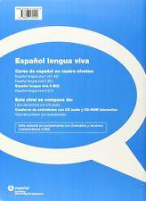 Espanol Lengua Viva: Cuaderno De Actividades + Cdr 3 Spanish textbook NEW COPY