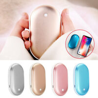 5000mAh Rechargeable Pocket Electric Hand Warmers Charger Portable Power Bank