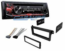 JVC CAR STEREO RADIO CD PLAYER DECK W/ DASH KIT & WIRE HARNESS INSTALLATION KIT