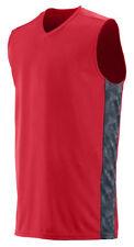 Augusta Sportswear Men's V Neck Sleeveless Fast Break Game Jersey T-Shirt. 1720