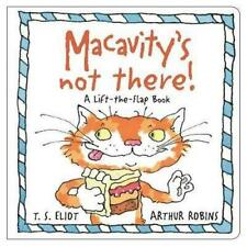 NEW Macavity's Not There! By T.S. Eliot Hardcover Free Shipping