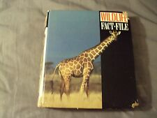 Wildlife Fact File Binder with Cards 11 Dividers Some cards in each section