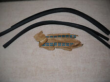 NOS Mopar 1968-1969 Cuda Dart Door Glass Window Run Weatherstrip Seals Rare!!