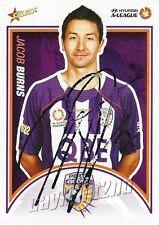 ✺Signed✺ 2009 2010 PERTH GLORY A-League Card JACOB BURNS