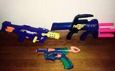 Vintage Nerf Gun Lot Darts Ammo Secret Shot Arrow Storm HTF Tested