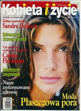 KOBIETA I ZYCIE 99/08 (27/2/99) SANDRA BULLOCK CALISTA FLOCKHART GWYNETH PALTROW
