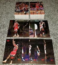 1998 UPPER DECK MJX PARTIAL SET (97) CARDS (10) SP FOIL CARDS JORDAN VERY RARE