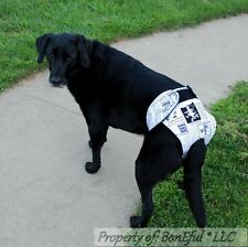 BonEful RTS NEW DOG*gy Diaper Female Incontinence Girl STAY ON XXXL Large Breed