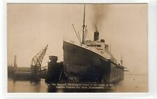 "R.M.S. ""MAJESTIC"": White Star Line shipping postcard (C15896)"