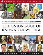 The Onion Book of Known Knowledge by Onion Staff 2013 Paperback