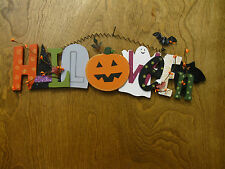 """HALLOWEEN #J4583 Wall Hanging, 20""""x4.5"""", NEW from our Retail Store"""